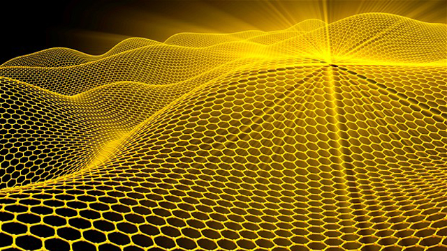 A pictorial view of a graphene sheet